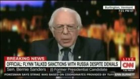 Bernie Sanders kets kicked off CNN after calling CNN fake news