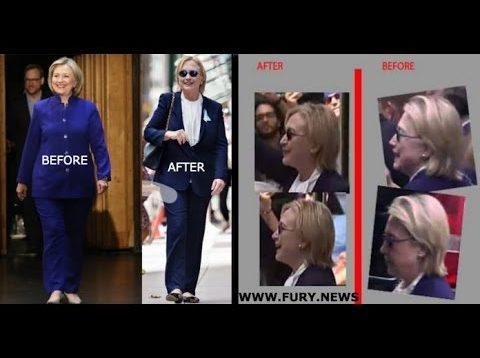 Hillary Clinton Body Double Proof