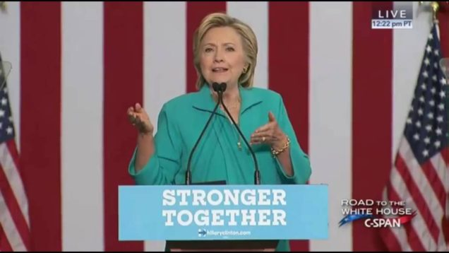 Hillary Clinton Speech About Conspiracy Theories, Alex Jones, Trump