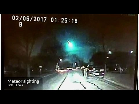 Strange Fireball Crashes to Earth