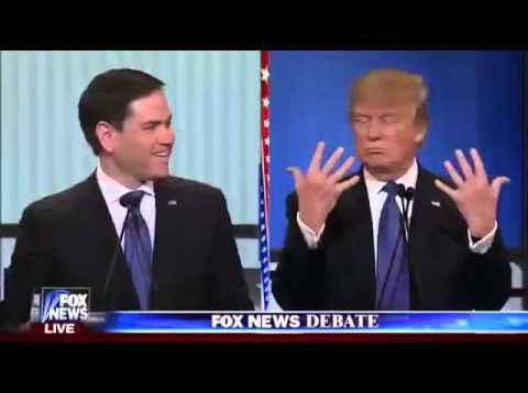 """Trump Talks about His Small """"Hands"""""""
