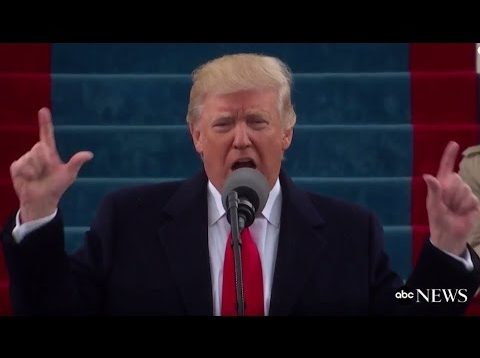 Trump's Inauguration Speech